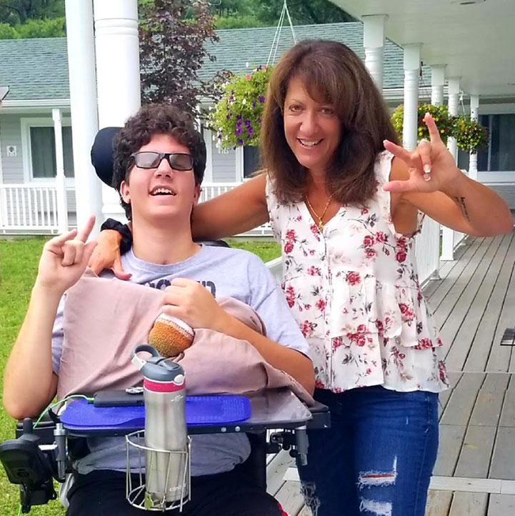 Karen Pyros & Son Damon